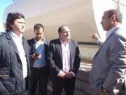 Intendente Roberto Herrera, Gustavo Saadi, Gustavo Aguirre, Enzo Carrizo