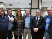 Diputado Carlos Molina, Diputada Paola Bazan, Ministro Rogelio Frigerio, Diputado Simón Hernandez, Diputado Miguel Vázquez Sastre