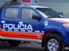 Movil Policia de Catamarca
