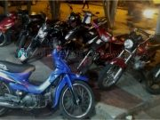 Operativo de secuestro de motos