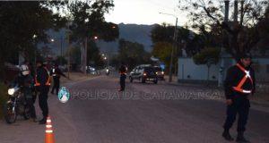 Secuestro de Motos, Control policial