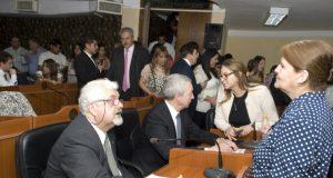Diputado Carlos Molina, Diputado Ruben Manzi, Diputada Marita Colombo,