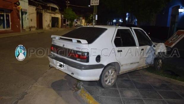 Accidente en la policia de Catamarca