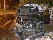 Diputada Paola Bazan, Incendio Automovil Paola Bazan