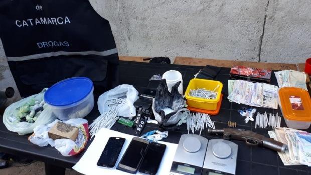 Secuestro de Droga Andalgala, Policia de Catamarca