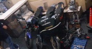 Desaramadero de motos, Policia de Catamarca,