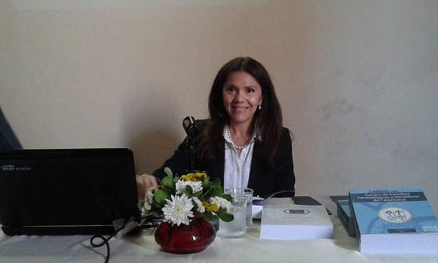 Diputada Silvana Ginocchio, Silvana Ginocchio