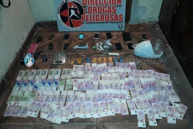 Kiosco de Droga, Policia de Catamarca