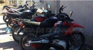 Policia de Catamarca, Secuestro de Vehiculos