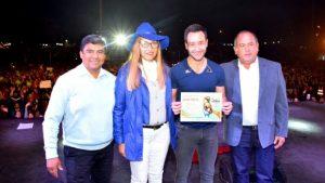 Intendente Alfredo Hoffman, Diputada Analina Brizuela, Festival de la Mandarina, Chumbicha Catamarca