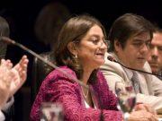 Inicio de sesiones legislativas, Lucia Corpacci, Lucia Corpacci 1 mayo