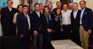 Simón Hernández, Miguel Vázquez Sastre, Ruben Manzi, Paola Bazan, Enrique Cesarini, Ruben Herrera