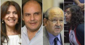 Eduardo Brizuela del Moral, Orieta Vera ,Gustavo Saadi, Silvana Ginocchio