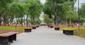 Plaza virgen del Valle Catamarca