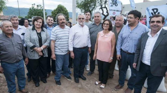 Lucia Corpacci, Eduardo Menecier, Senadora Ines Blas