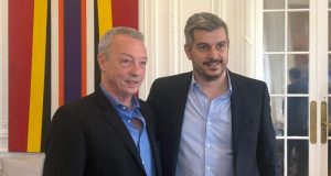 Ruben Manzi, Marcos Peña